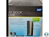 Mybook Live NAS Hard Drive 2 TB Terabyte