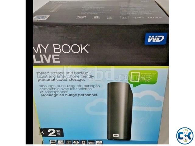 Mybook Live NAS Hard Drive 2 TB Terabyte  | ClickBD large image 0