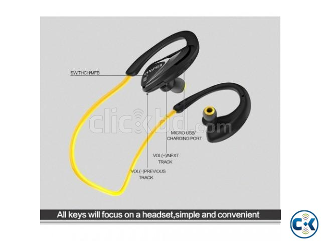 Awei A880BL Wireless Sports Stereo Headphone | ClickBD large image 1