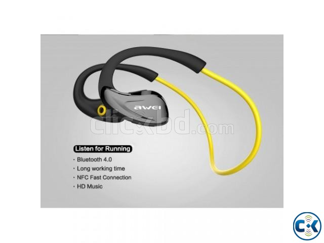 Awei A880BL Wireless Sports Stereo Headphone | ClickBD large image 3