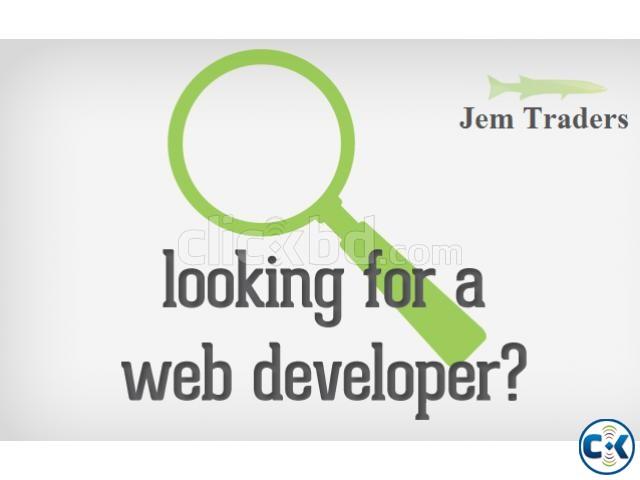 Web Designer Development For Online Work from home | ClickBD large image 0