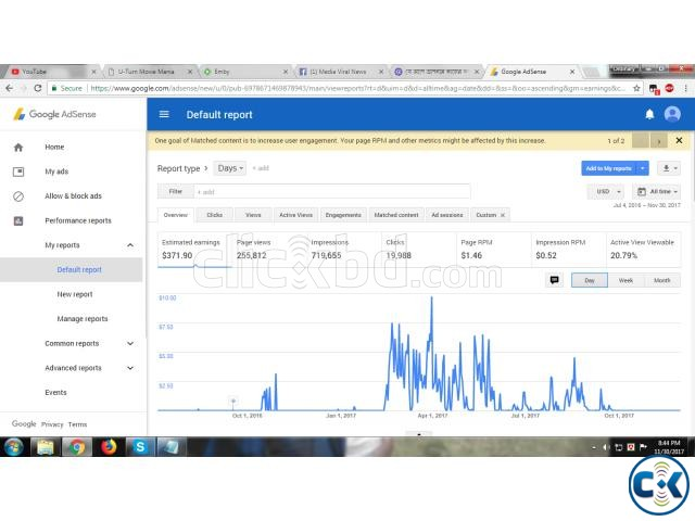 Non Hosted Google Adsense Account For Sell Urgent | ClickBD large image 1