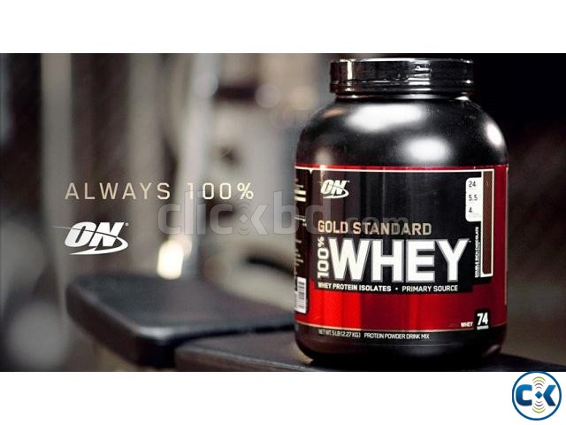 Gold Standard 100 Whey Protein-5Lbs | ClickBD large image 0