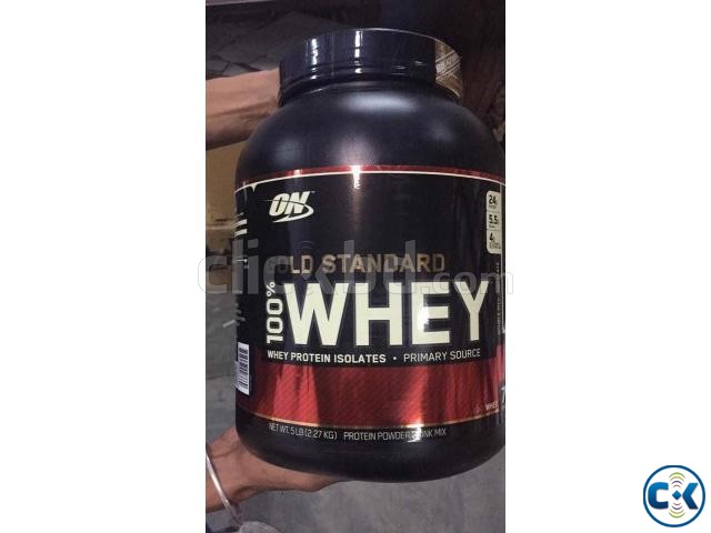 Gold Standard 100 Whey Protein-5Lbs | ClickBD large image 1