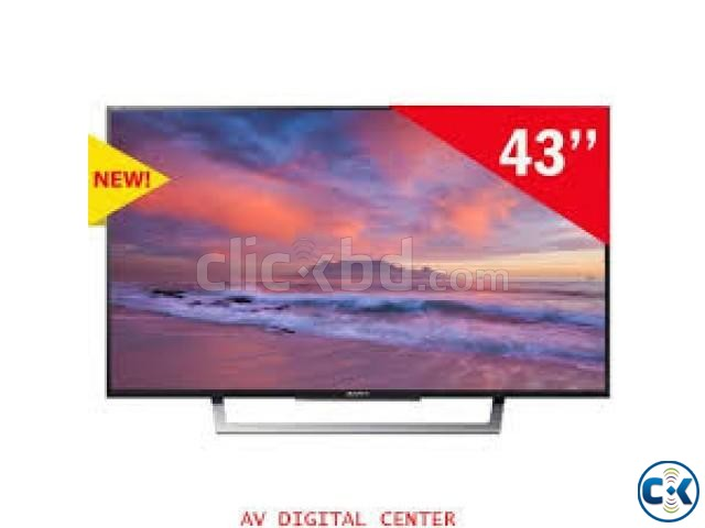 Sony Bravia W750E 49 Inch Full HD Smart LED Television | ClickBD large image 1