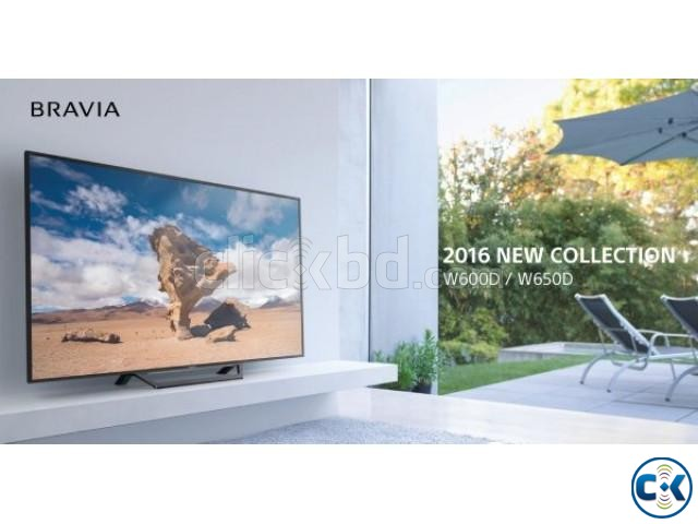 Sony Barvia W650D 40 Inch Full HD Wi-Fi Smart Television | ClickBD large image 1