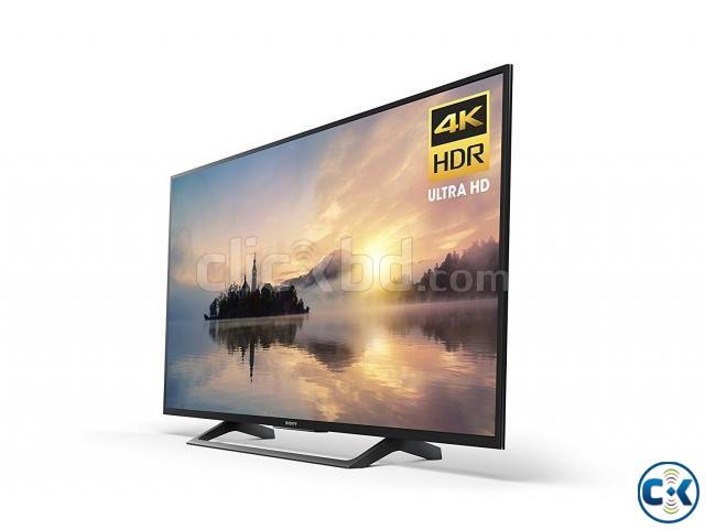 Sony 4K Smart 49X8000E Slim LED TV | ClickBD large image 0