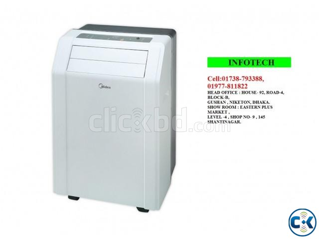 MIDEA - PORTABLE AIR CONDITIONER AC 1-TON | ClickBD large image 0