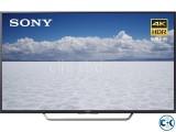 Sony bravia X8000E smart television has 55