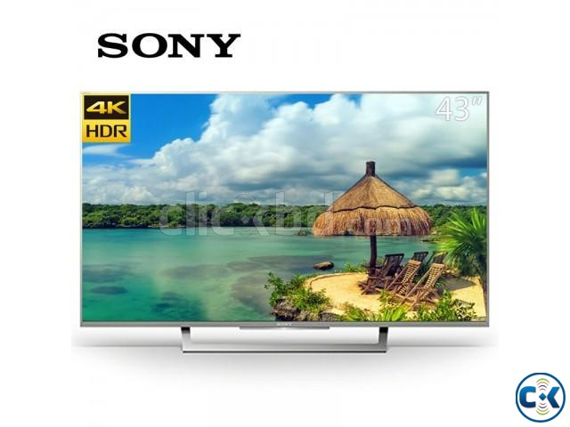 Sony Bravia X7000E 65 Wi-Fi Smart Slim 4K HDR LED TV | ClickBD large image 0