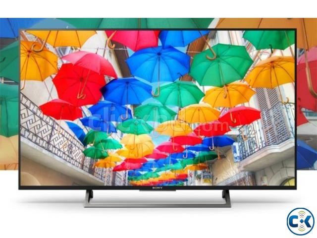 Sony Bravia X7000E 65 Wi-Fi Smart Slim 4K HDR LED TV | ClickBD large image 1