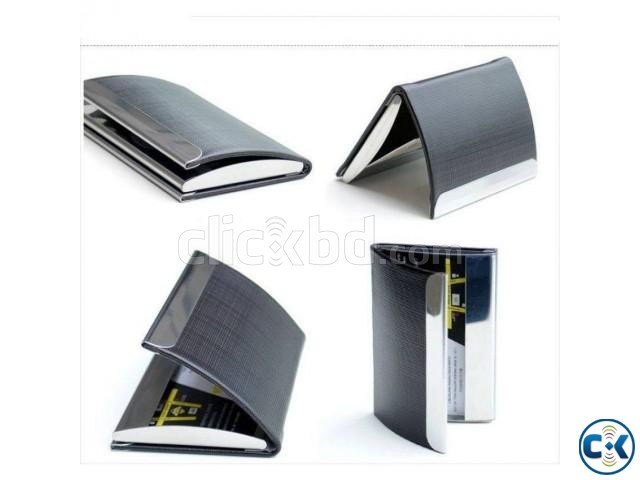 Aluminium Business or Credit Card Holder-1pc | ClickBD large image 0