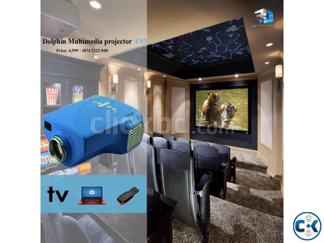 Multi-Media TV Projector Dolphin | ClickBD large image 0