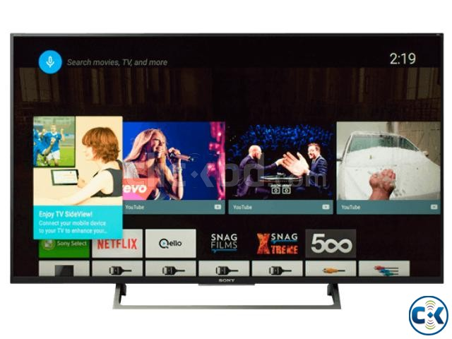 Sony KD-55X8000E HDR 4K UHD Android Smart LED TV | ClickBD large image 2