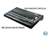 Soundcraft MfXi-20 New call01687884343