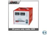Power On Stabilizer SAKO Single Phase -3000 VA SERVO