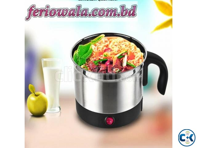 Multi Function Electrical Cooking Pot 18cm | ClickBD large image 0
