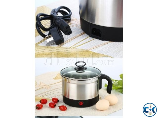 Multi Function Electrical Cooking Pot 18cm | ClickBD large image 1