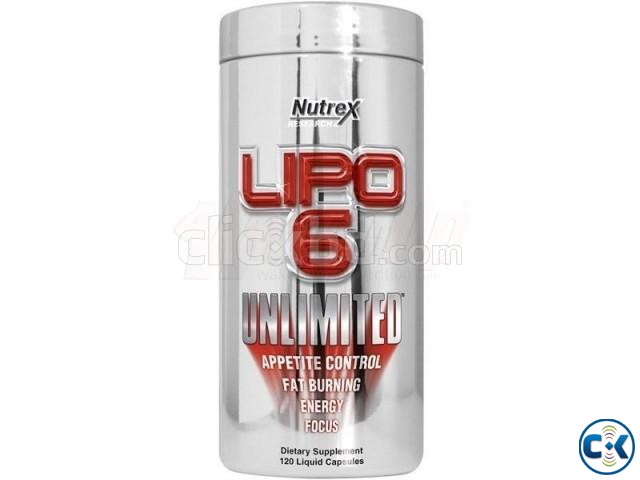 Lipo-6 Unlimited 120 - Fat Burner | ClickBD large image 0