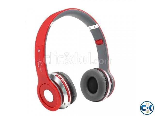 Wireless Headphone S450 TM 12 Red | ClickBD large image 0