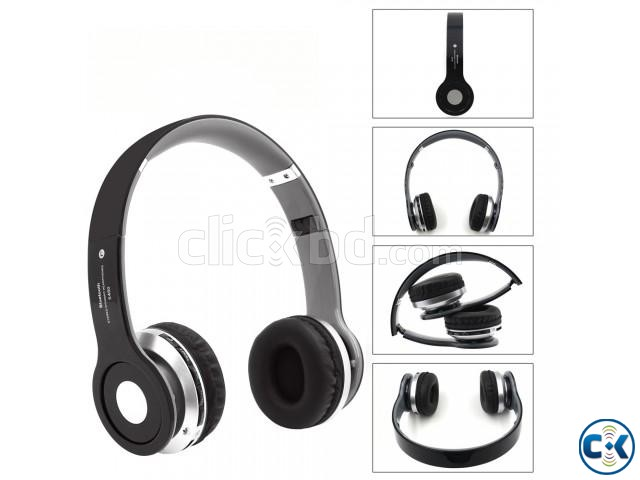 Wireless Headphone S450 TM 12 Red | ClickBD large image 2