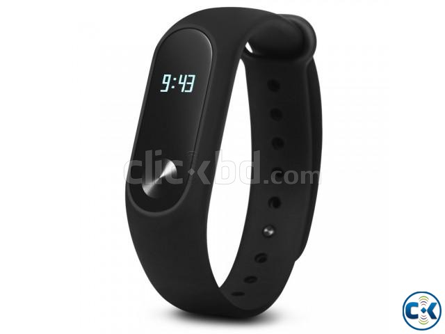 MiBand 2 Mi Band Smart Bracelet Fitness Wristband Watch | ClickBD large image 0