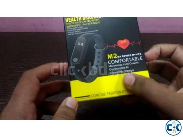 Bingo M2 Smart Band water proof heart rate intact Box | ClickBD large image 3