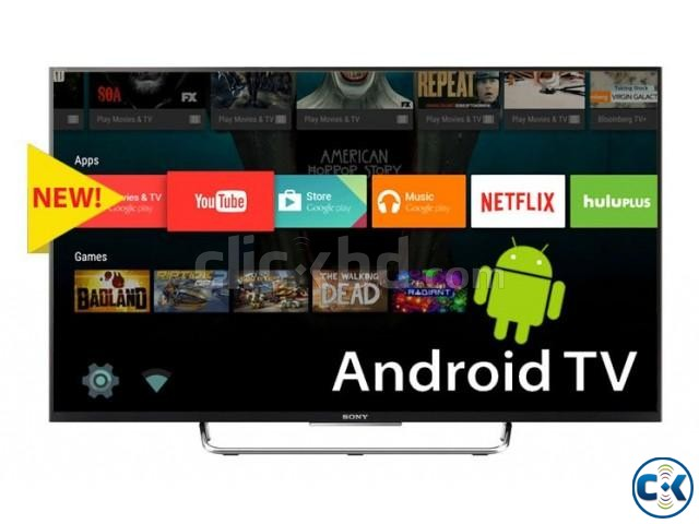 Sony Bravia W800C 43 inch Smart Android 3D TV NEW Year Offer | ClickBD large image 1