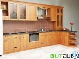 Kitchen cabinet with Lacquer color