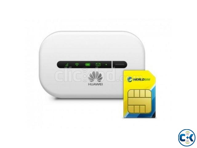 Huawei e5330 Wifi pocket Router 3G 4G sim supported intact | ClickBD large image 0