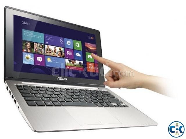 ASUS VivoBook X202E Touch screen i3 4GB | ClickBD large image 0