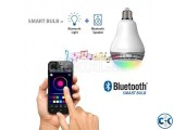 Bluetooth Color Changing LED Light with Speaker-01977784777
