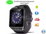 QW09 Full Android Wifi 3G Smart Mobile Watch