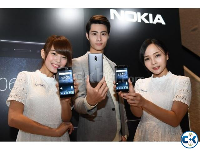 Brand New NOKIA 6 4 64GB Sealed Pack 3 Yr Warranty | ClickBD large image 1