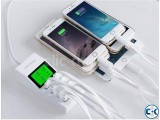 Universal 8 USB Port Display Screen Charger