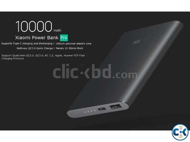 Xiaomi Power Bank 10000mAh V2 Pro | ClickBD large image 2