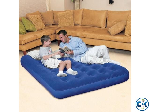 Bestway Double Air Bed free pumper intact Box | ClickBD large image 1