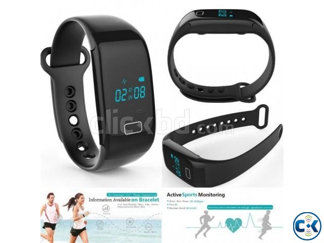 R3 Smart Bracelet Blood Pressure Monitor Heart Rate Monitor | ClickBD large image 1