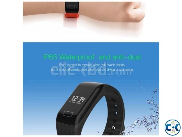 R3 Smart Bracelet Blood Pressure Monitor Heart Rate Monitor | ClickBD large image 3