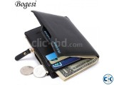 Bogesi brand money purses Men Wallet