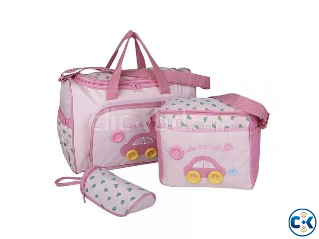 Baby Diaper bag escription- mummy B | ClickBD large image 0