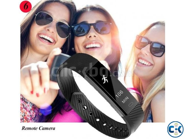 ID115 Fitness Tracker | ClickBD large image 0