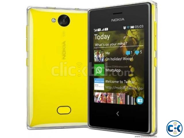 Original Nokia Asha 502 phone With Warranty intact Box | ClickBD large image 0
