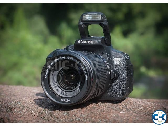 Canon EOS 700D DSLR 18MP Camera with 18-55mm Lens | ClickBD large image 1