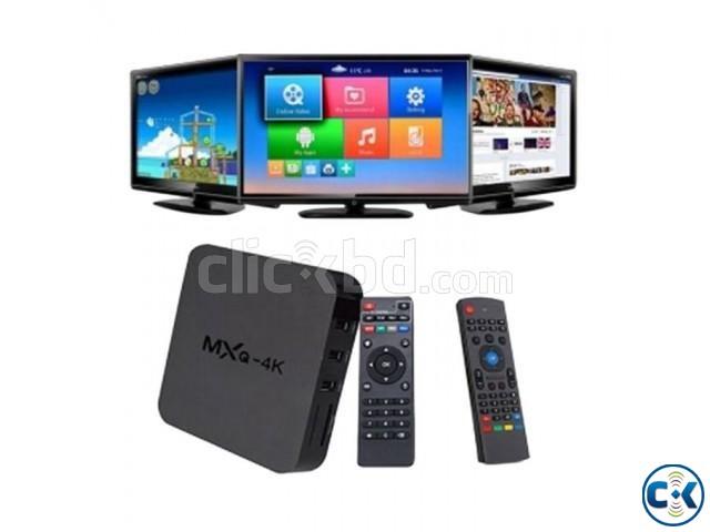 Mini PC MXQ 4K Android Smart TV Box | ClickBD large image 0
