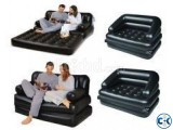 5 in 1 Inflatable Double Air Bed