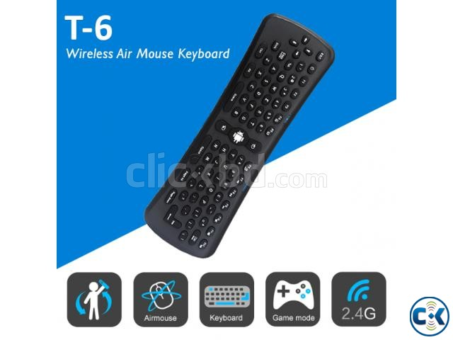 Fly air mouse mini keyboard wireless t6 | ClickBD large image 0
