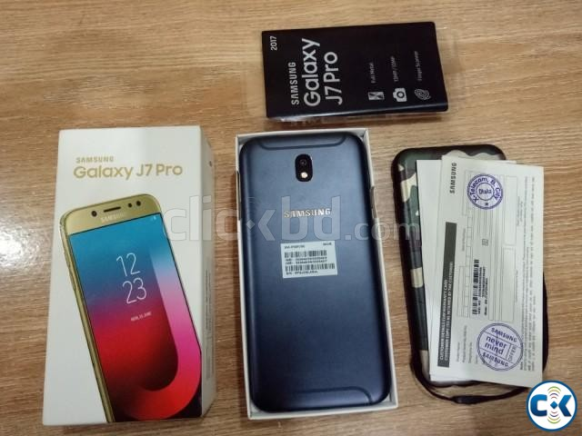 Samsung J7 Pro 2017 Unused Set | ClickBD large image 1