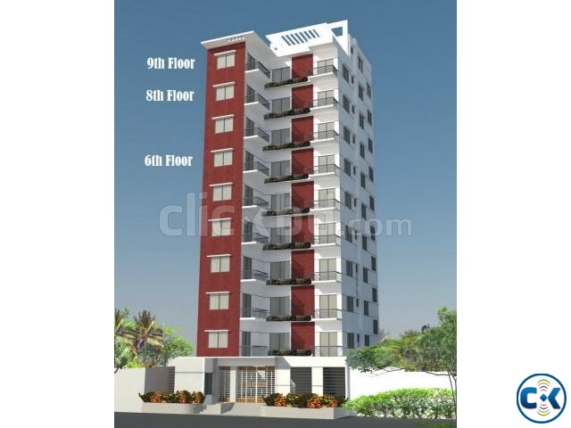 1750sft south facing apartment at Bashundhra Block D | ClickBD large image 0