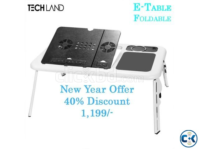 E-Table Multifunction Cooler | ClickBD large image 0